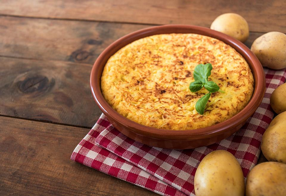 Low Sodium Traditional Spanish Omelettes