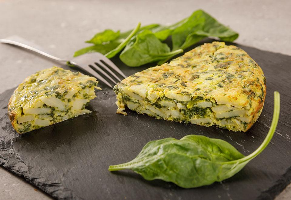 Pasteurized Flavoured Spanish Omelettes