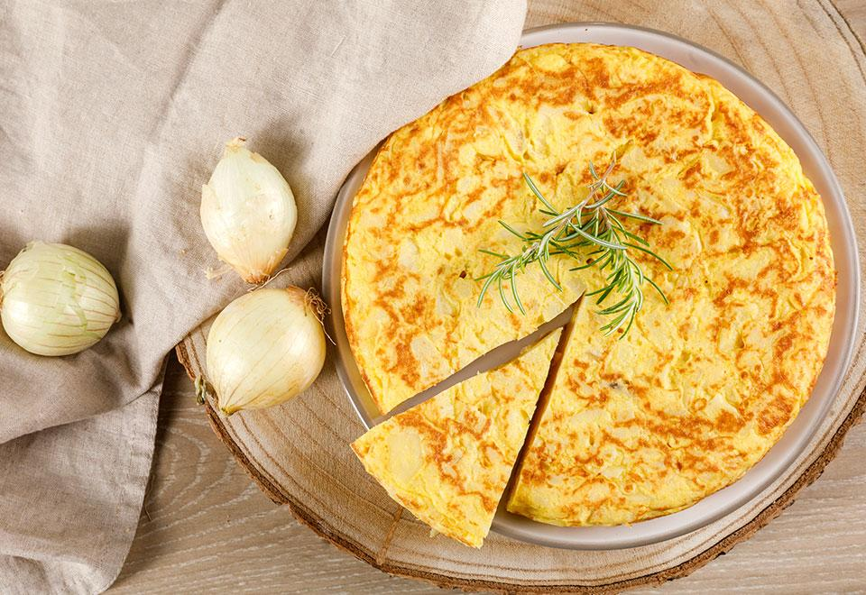 Traditional Spanish Omelettes (tray packaging)