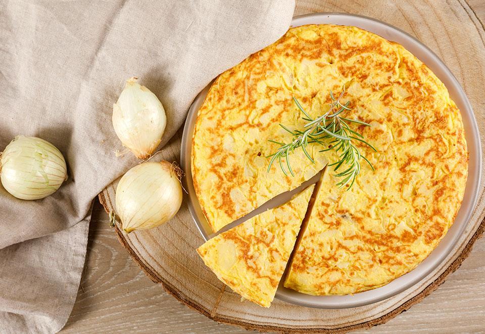 Tortillas al plato tradicionales