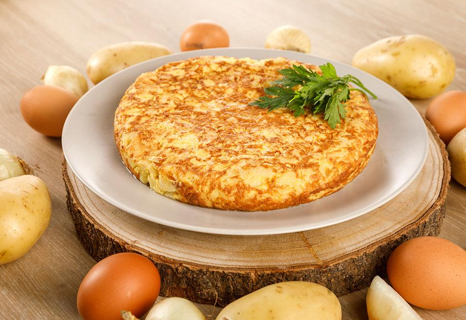 Traditional Spanish Omelettes (flexible packaging)