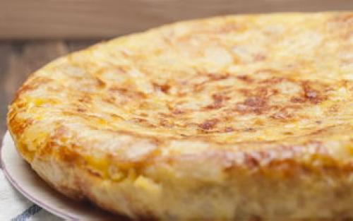 Frozen Spanish Omelettes