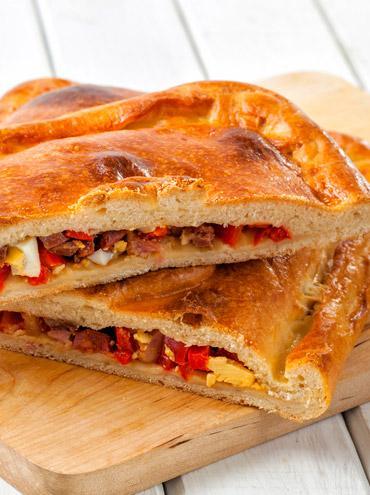 Tuna and Palacios chorizo pasty
